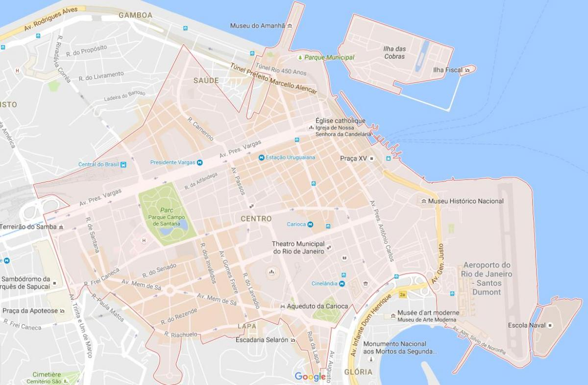 Map of Centro