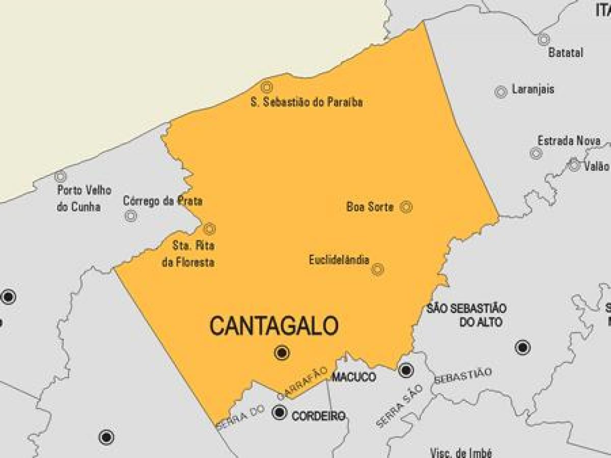 Map of Comendador Levy Gasparian municipality