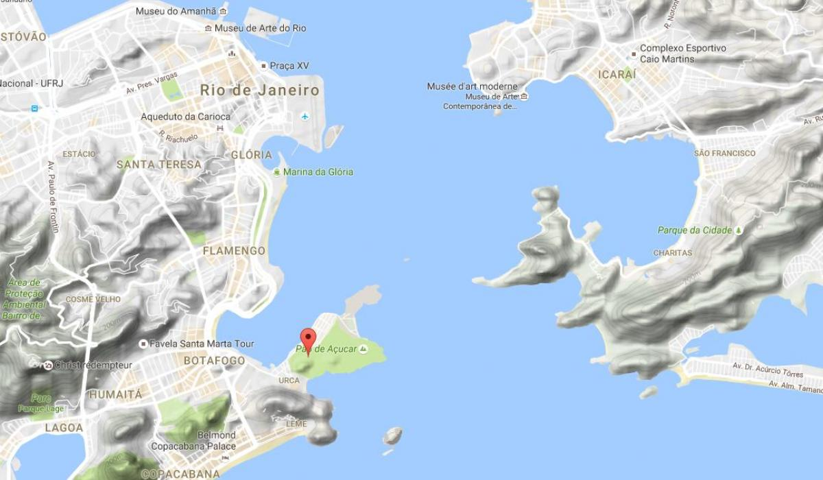 Map of Hill of Urca