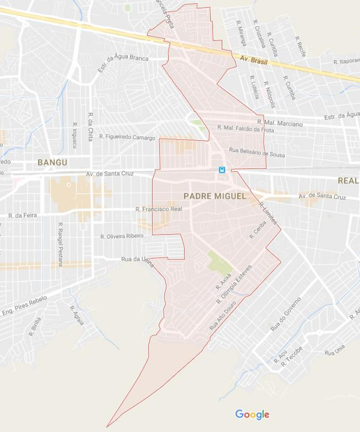 Map of Padre Miguel