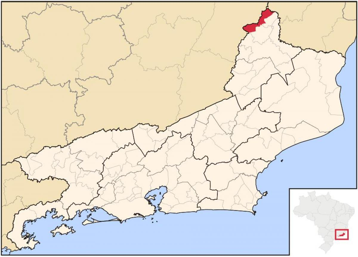 Map of Porciúncula