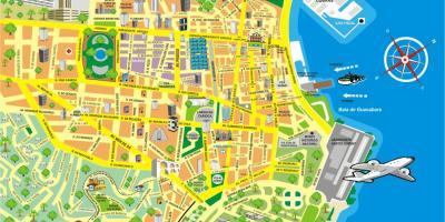 Rio de Janeiro Attraction map All Rio de Janeiro Attractions maps
