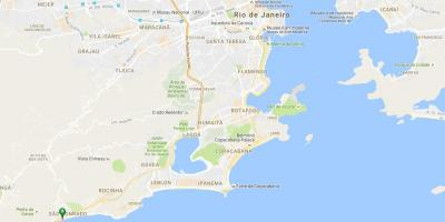 Map of beach Pepino