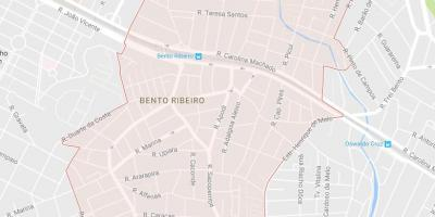 Map of Bento Ribeiro